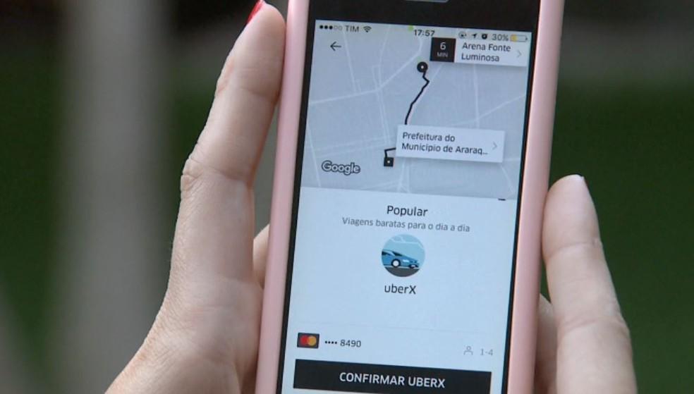 -  Câmara de Fortaleza aprova lei que define regras para aplicativos de transportes  Foto: Reprodução/ EPTV