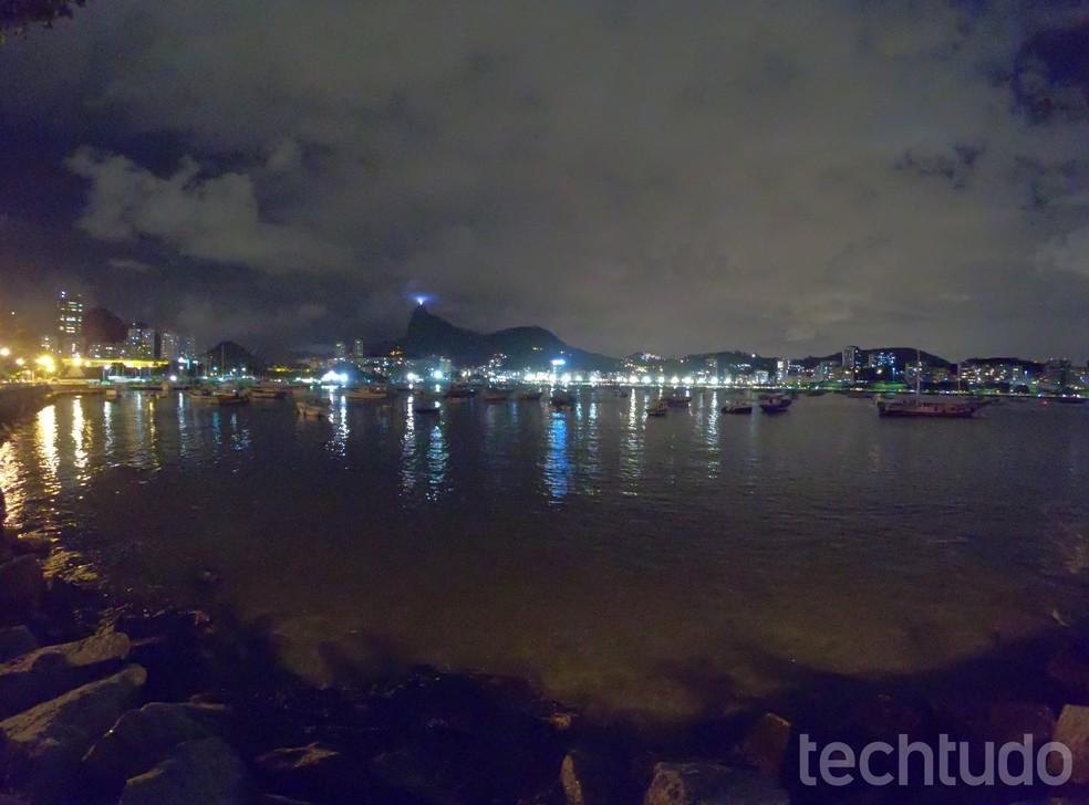 Foto em ambiente noturno - GoPro Hero6 Black (Foto: Luciana Maline/ Techtudo)