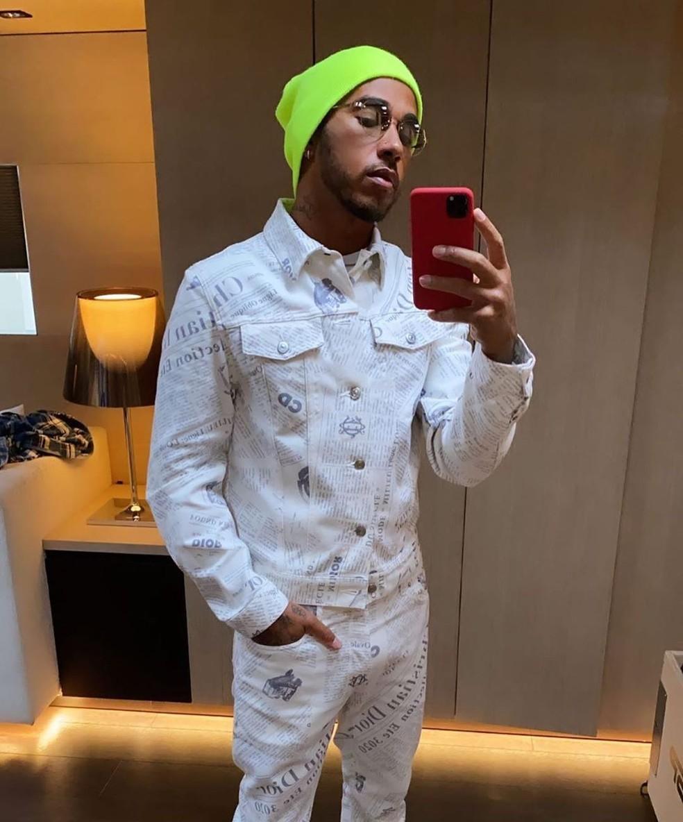 Lewis Hamilton — Foto: Reprodução/Instagram