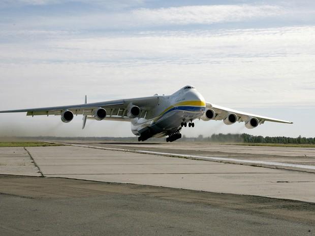 Antonov chegará no Brasil no dia 14 de novembro (Foto: Divulgação/ Antonov Company )