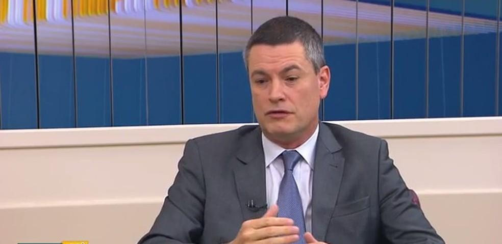 O delegado Maurício Valeixo, superintendente da PF no Paraná — Foto: Reprodução/RPC