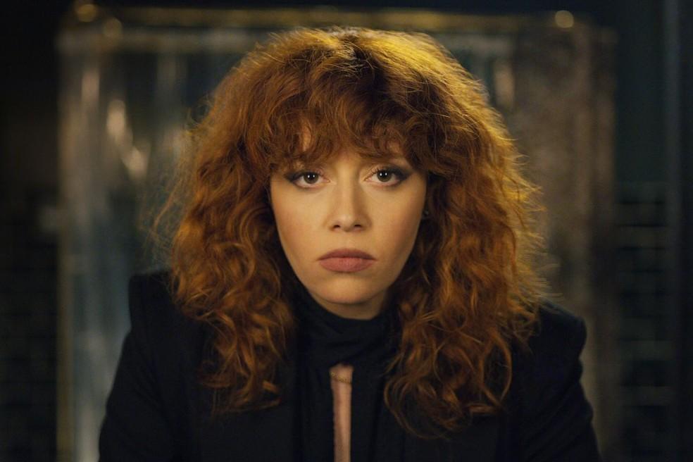 Natasha Lyonne como Nadia Vulvokov em 'Boneca russa' — Foto: Divulgação/Netflix