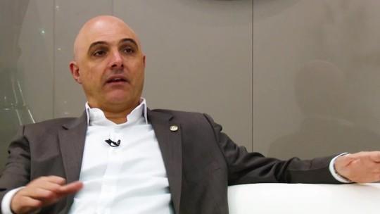 """Galiotte vê Palmeiras equilibrado e resume papel da patrocinadora: """"Não quero ficar entre 10º e 15º"""""""