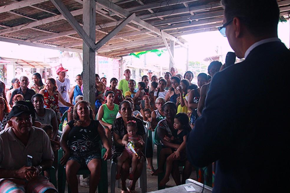 -  Defensoria Pública suspende reintegração de posse no Curtume de Santo Antônio  Foto: Divulgação