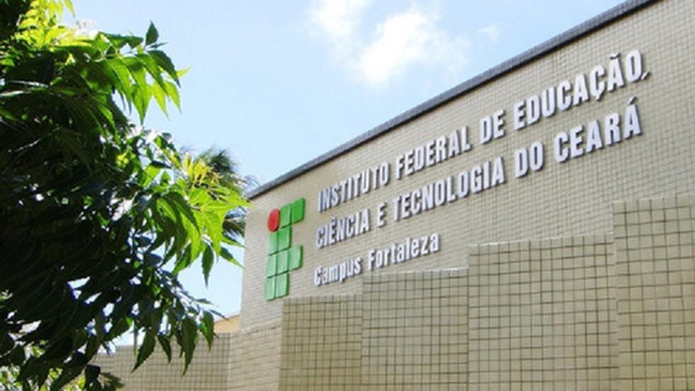 IFCE prorrogou as atividades remotas até o dia 31 de dezembro de 2021. — Foto: Divulgação/IFCE