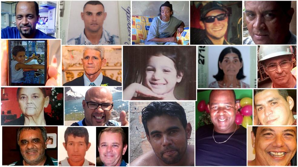 Dezenove pessoas morreram na tragédia; um corpo nunca foi encontrado (Foto: Reprodução/G1)