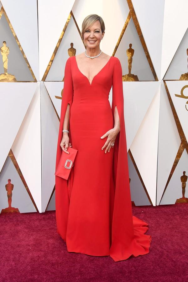 Allison Janney, que concorre ao Oscar de Melhor Atriz Coadjuvante (Foto: Getty Images)