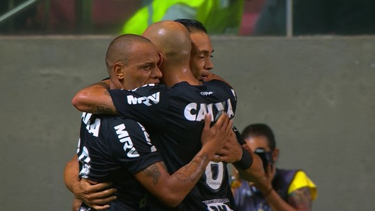 Os gols de Atlético-MG 1 (4) X (2) 2 Figueirense pela 3ª fase da Copa do Brasil