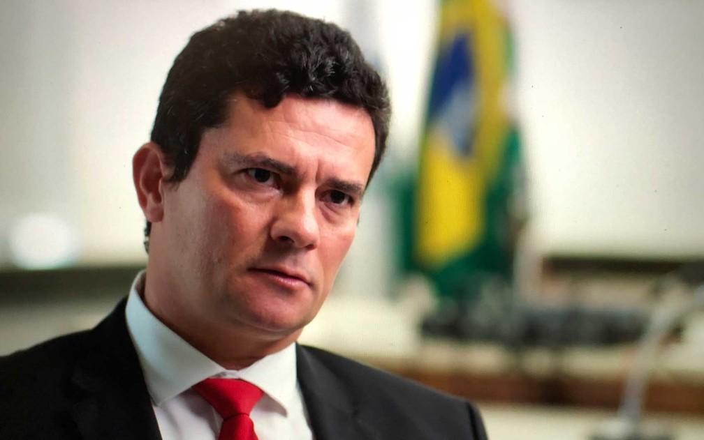 Moro parabeniza Bolsonaro e deseja 'bom governo' a ele — Foto: CGTN America