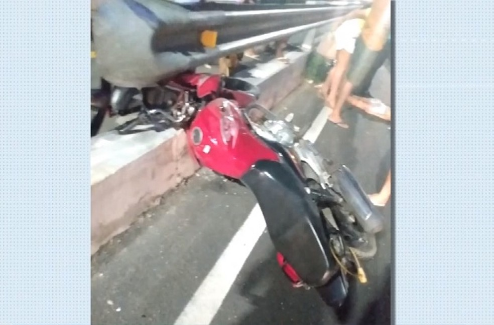 Homem que atropelou o casal fugiu sem prestar socorro, afirma polícia — Foto: TV Verdes Mares/Reprodução