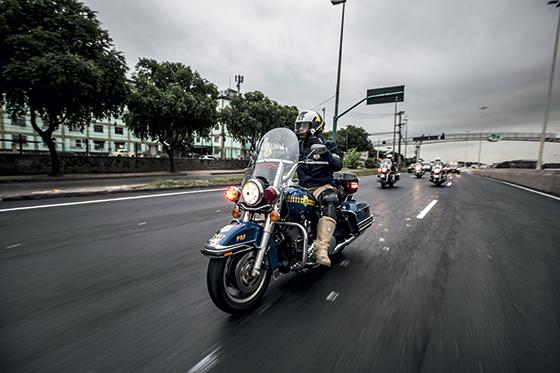 Serão usadas 500 motos durante os Jogos (Foto: Stefano Martini/ÉPOCA)