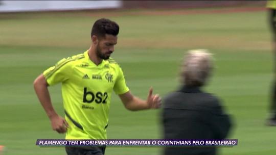 Após eliminação na Copa do Brasil, Flamengo trabalha duro para dar volta por cima diante do Corinthians, pelo Brasileiro