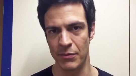 Mateus Solano comenta nova fase de Eric: 'Ele coloca a mão na massa'