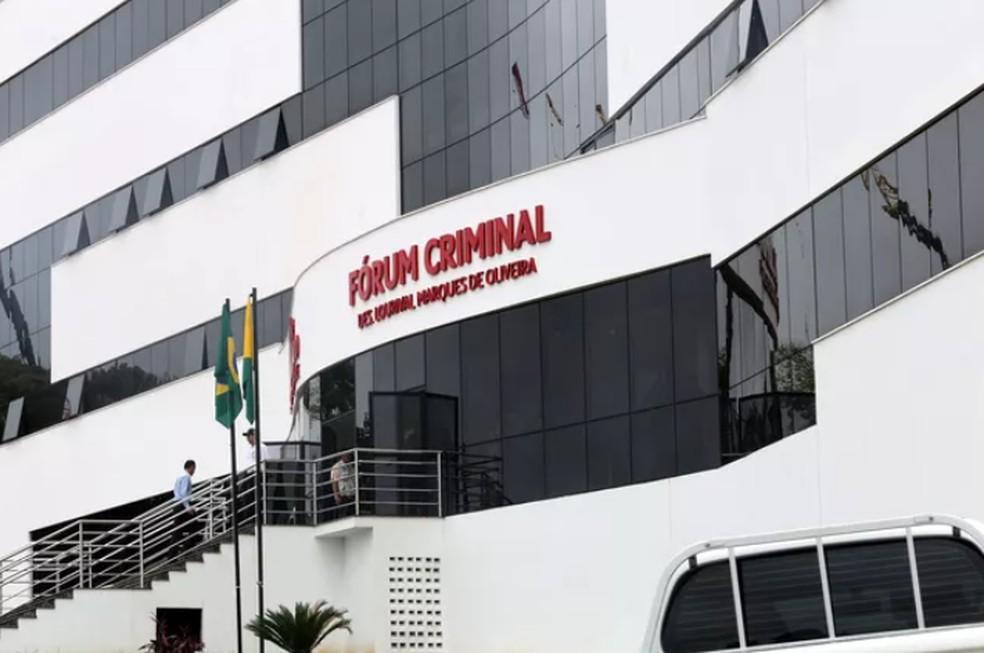 Júri popular começou às 8h30 desta quarta-feira (9) na 2ª Vara do Tribunal do Júri, em Rio Branco — Foto: Divulgação/TJ-AC