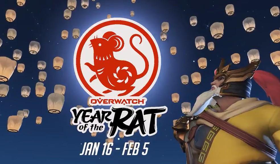 Overwatch: skins do novo evento de Ano Novo Chinês de 2020 — Foto: Reprodução/Felipe Vinha