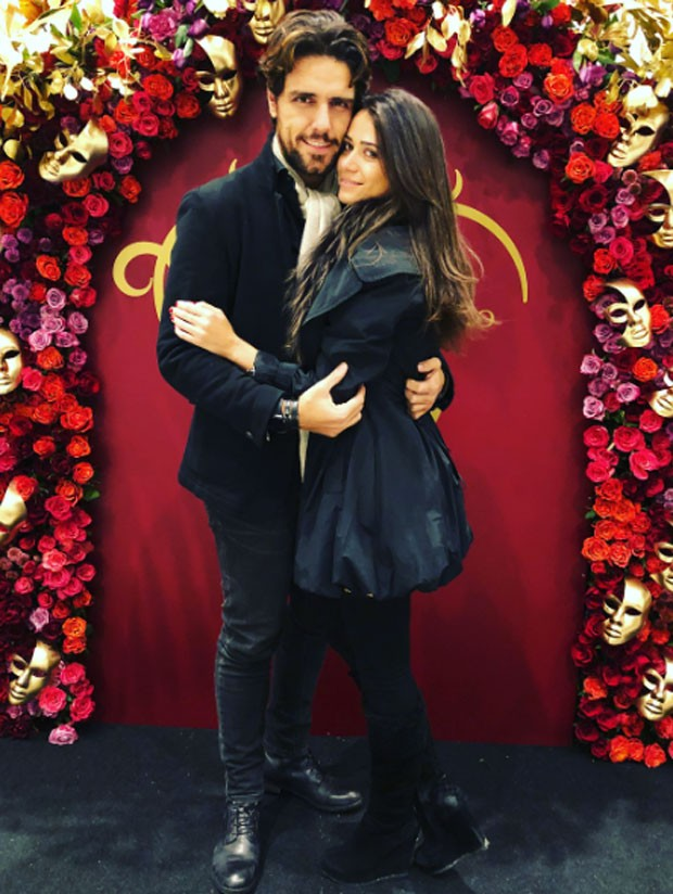 Thiago Arancam e Aline Frare (Foto: reprodução)