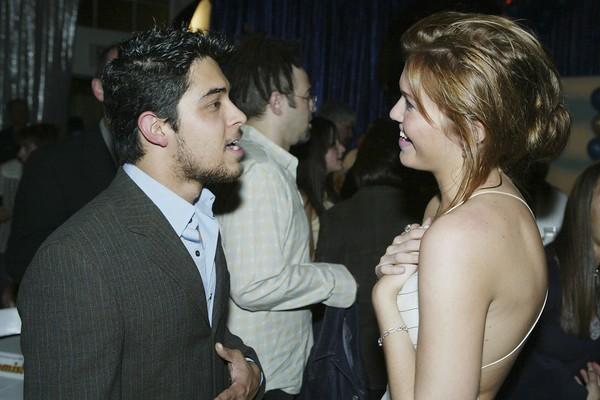 A atriz Mandy Moore com seu ex-namorado, o ator Wilmer Valderrama (Foto: Getty Images)