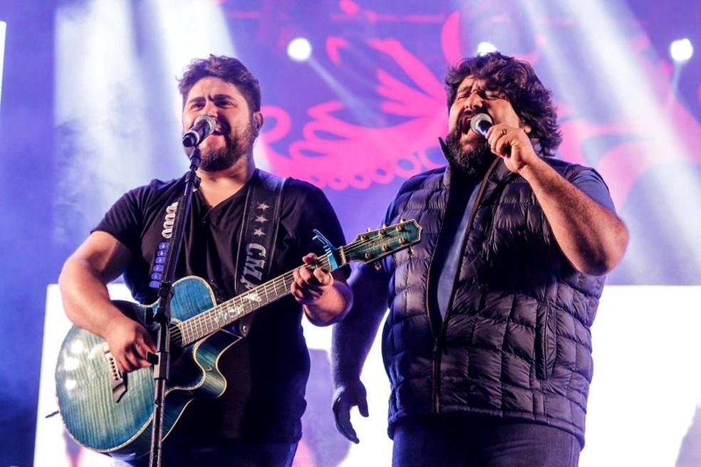 Dupla Cesar Menotti & Fabiano se apresenta no primeiro dia da festa (Foto: Divulgação)
