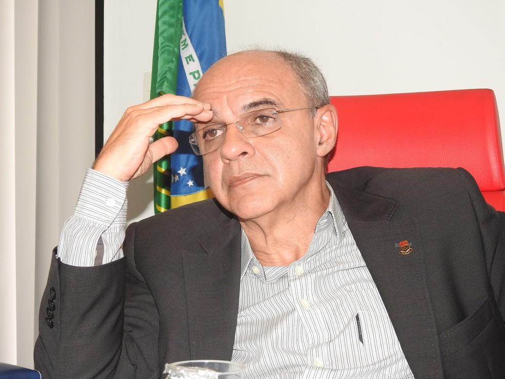Flamengo entra no último ano da gestão de Eduardo Bandeira de Mello (Foto: Fred Gomes)