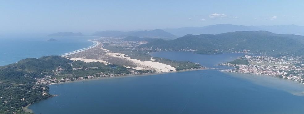 Florianópolis e outras cidades de Sc vão ter calor nesta segunda  — Foto: NSC TV/Reprodução
