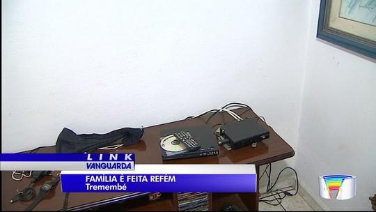 Casal de idosos, filho e nora são feitos reféns durante assalto em Tremembé, SP