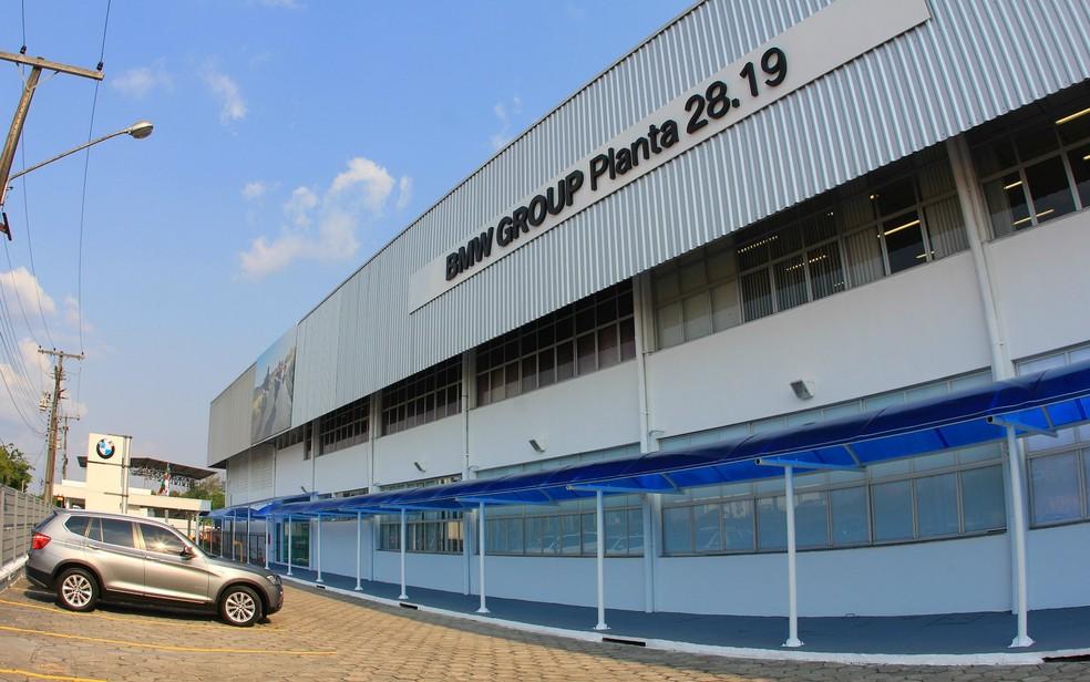 Fábrica da BMW Motorrad em Manaus — Foto: Divulgação