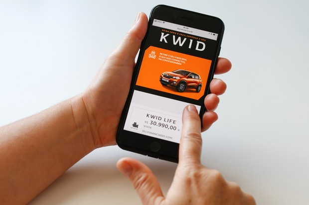 Renault permite a compra do Kwid pela internet (Foto: Divulgação)