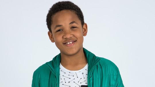 Conheça Felipe Gaspar, participante do 'The Voice Kids'