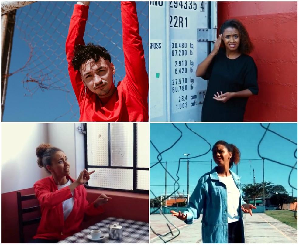 Músico produziu dez videoclipes em Leme — Foto: Reprodução