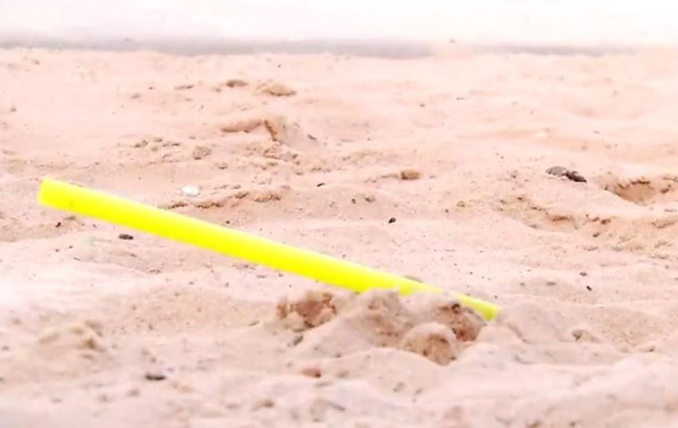 Projeto de lei que proíbe canudos de plásticos em bares do RN foi apresentando na ALRN (Foto: Reprodução/Inter TV Cabugi)