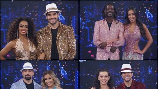 'Dança dos Famosos 2019': reveja os participantes dançando samba