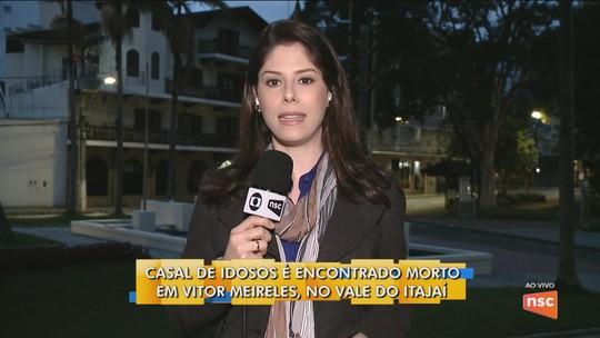 Corpos de casal de idosos foram jogados em barranco de 8 metros em Vitor Meireles