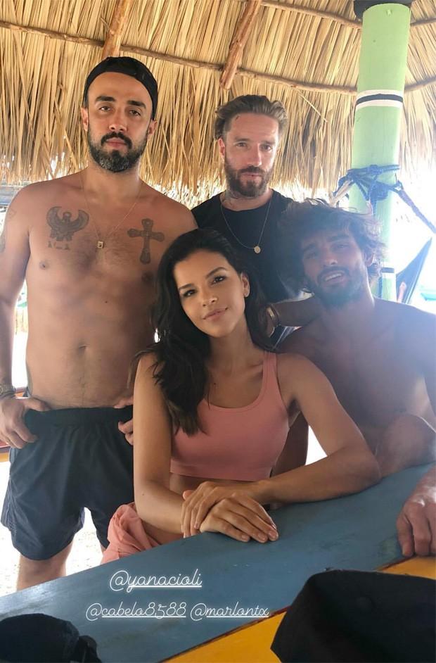 Mariana Rios, Marlon Teixeira, Yan Acioli e Thiago Jenne (Foto: Reprodução/Instagram)