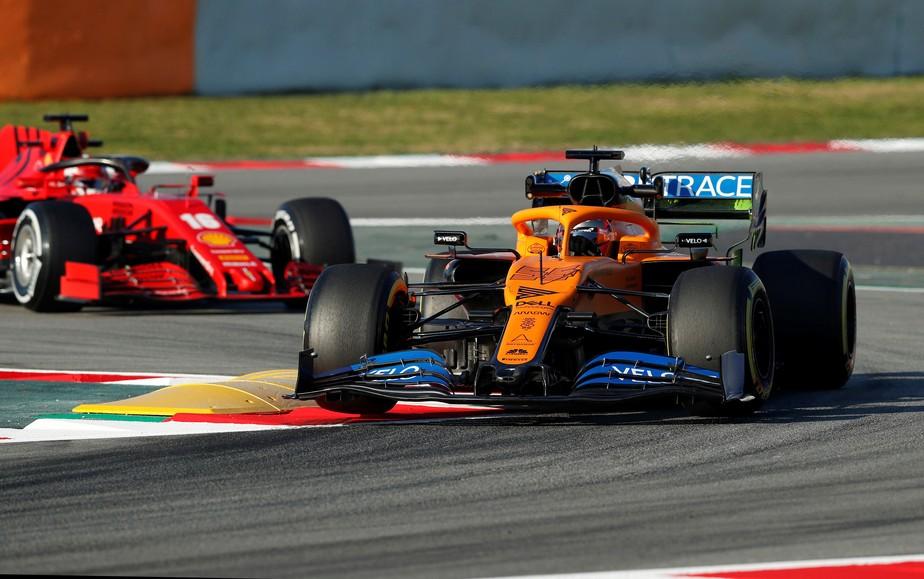 Veja Fotos De Todos Os Dez Carros Das Equipes Da Temporada 2020 Da Fórmula 1 Na Pista Fórmula 1 Ge