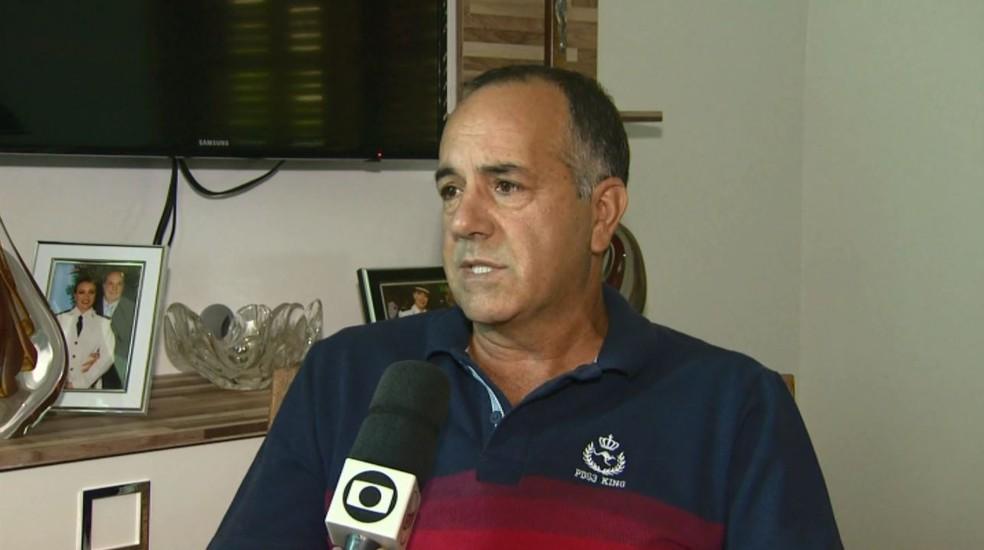 Pai de Leonardo Melo, morto pela namorada em Pouso Alegre (MG), falou sobre o crime. (Foto: Reprodução/EPTV)