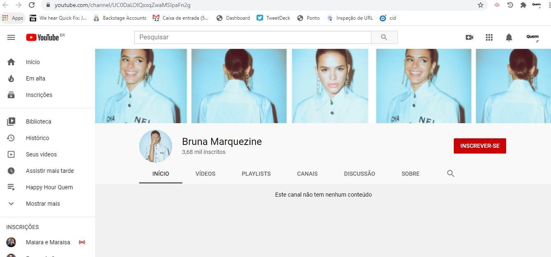 Bruna Marquezine Youtube