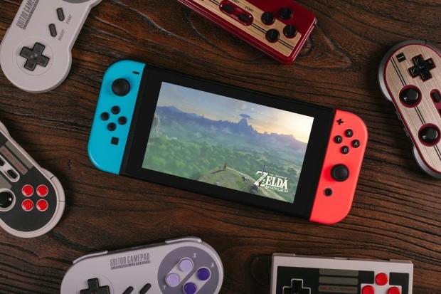 Controles da Nintendo agora são compatíveis com Switch (Foto: Reprodução/8Bitdo)