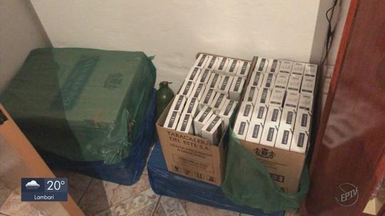 Operação de combate ao contrabando de cigarros em MG e SP tem 14 pessoas presas