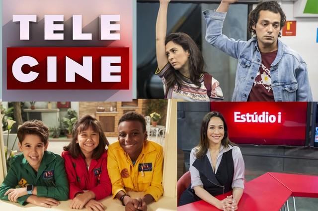 Canais da Telecine, séries do Globoplay, programas infantis e jornalísticos estão entre as atrações liberadas (Foto: Divulgação)