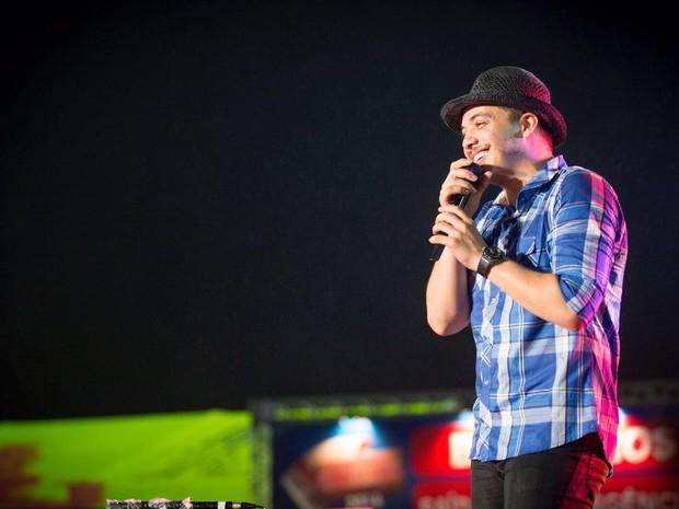 Wesley Safadão fez show para mais de 100 mil pessoas em Caruaru  (Foto: Divulgação/Ederson Lima - Assessoria)
