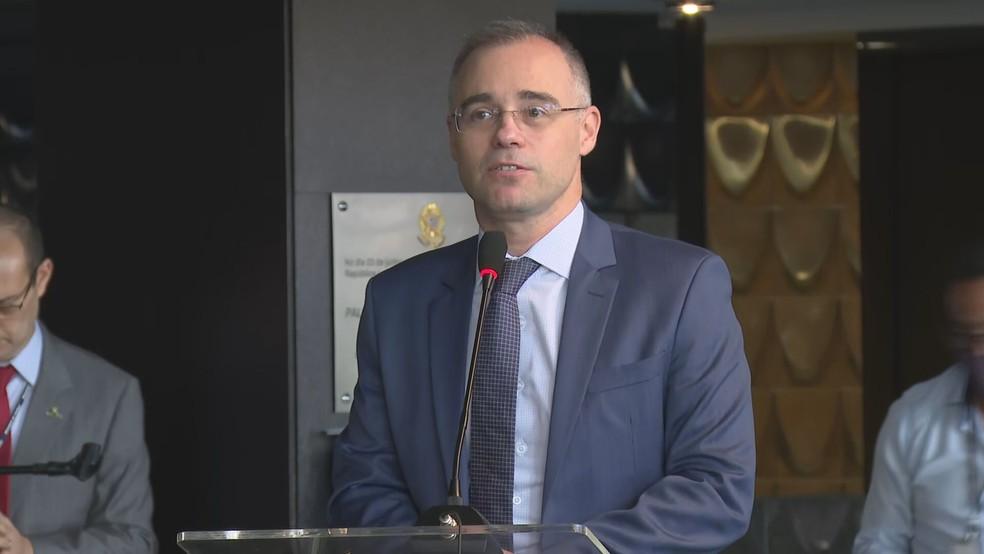 André Luiz Mendonça, ministro da Justiça e Segurança Pública — Foto: TV Globo/Reprodução