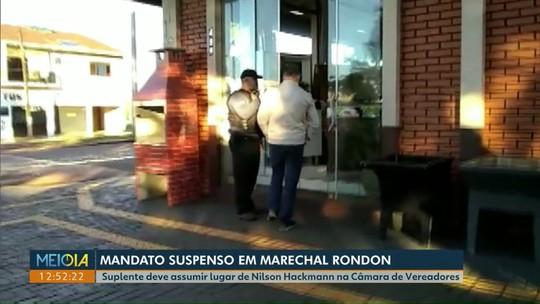 Mandato de vereador preso suspeito de chefiar organização criminosa é suspenso