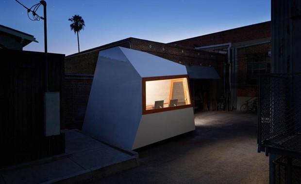 Estúdio de Los Angeles cria micro escritório sobre rodas (Foto: Divulgação)