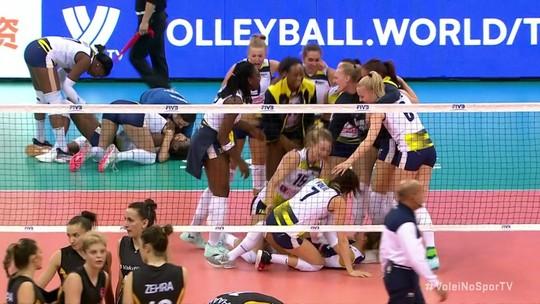 Pontos Finais: Conegliano 3 x 2 Istambul pelo Mundial de Clubes de Vôlei Feminino