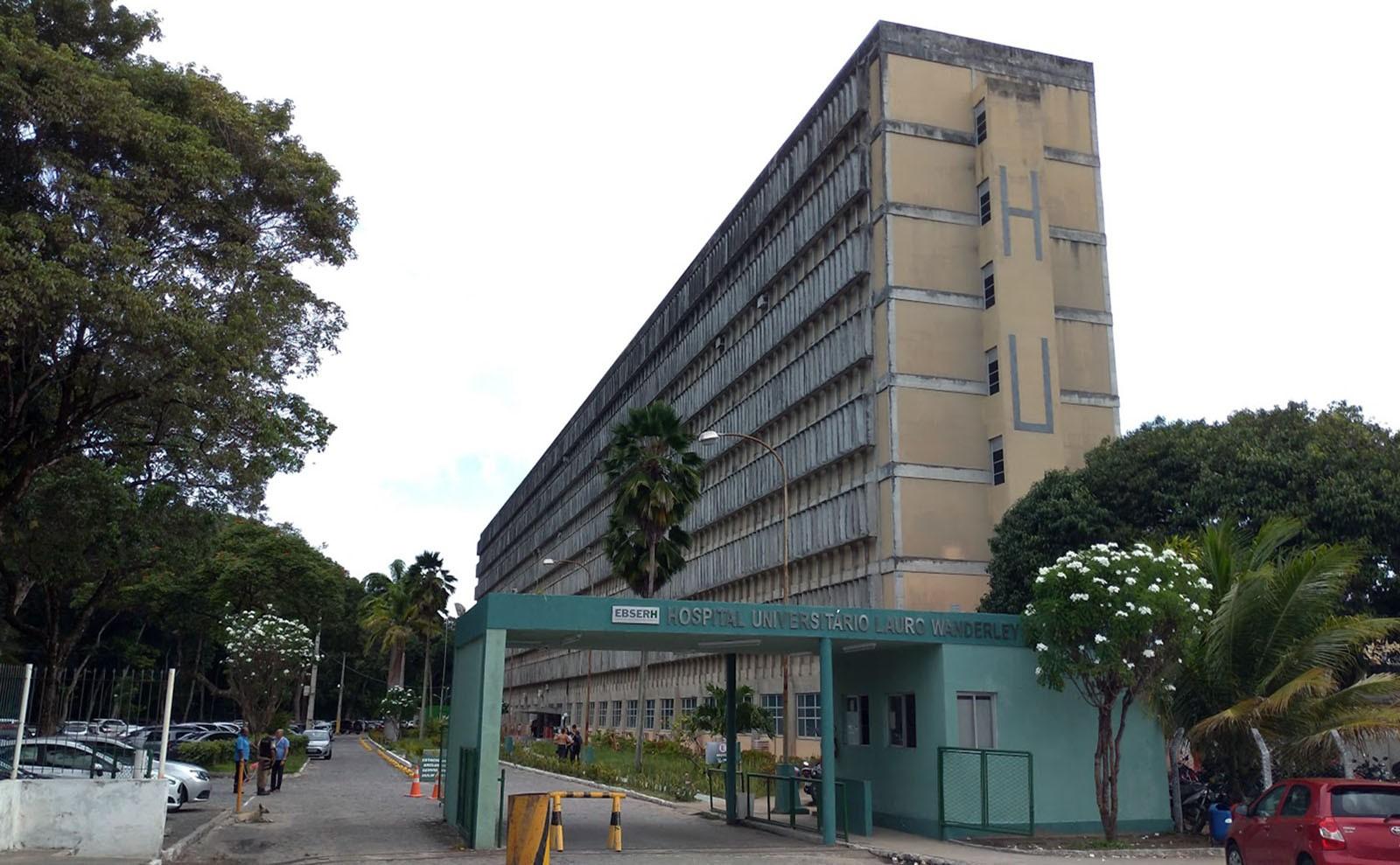 Vagas temporárias em seleção da Ebserh não são preenchidas no Hospital Lauro Wanderley, na PB