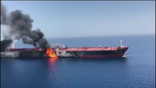 EUA e Irã trocam acusações por ataque no Estreito de Ormuz