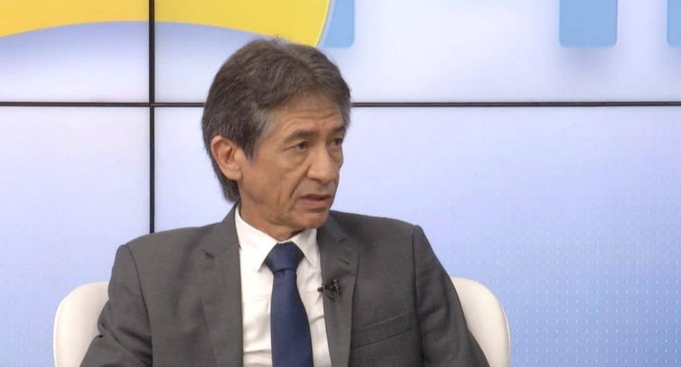 Nereu Linhares, presidente do Instituto de Previdência do Estado do Rio Grande do Norte — Foto: Reprodução/Inter TV Cabugi