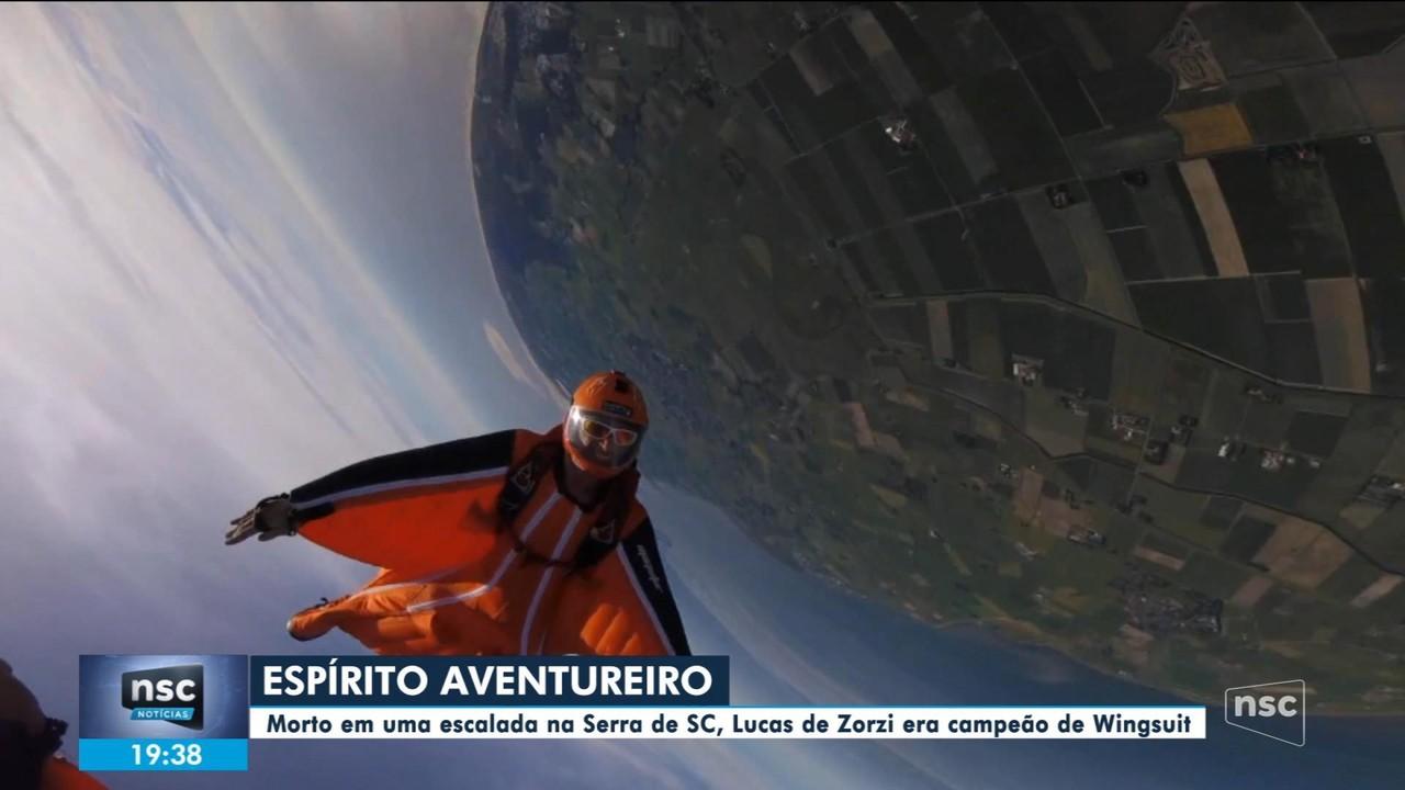 Amigos de alpinista que morreu na Serra de SC relembram legado do esportista