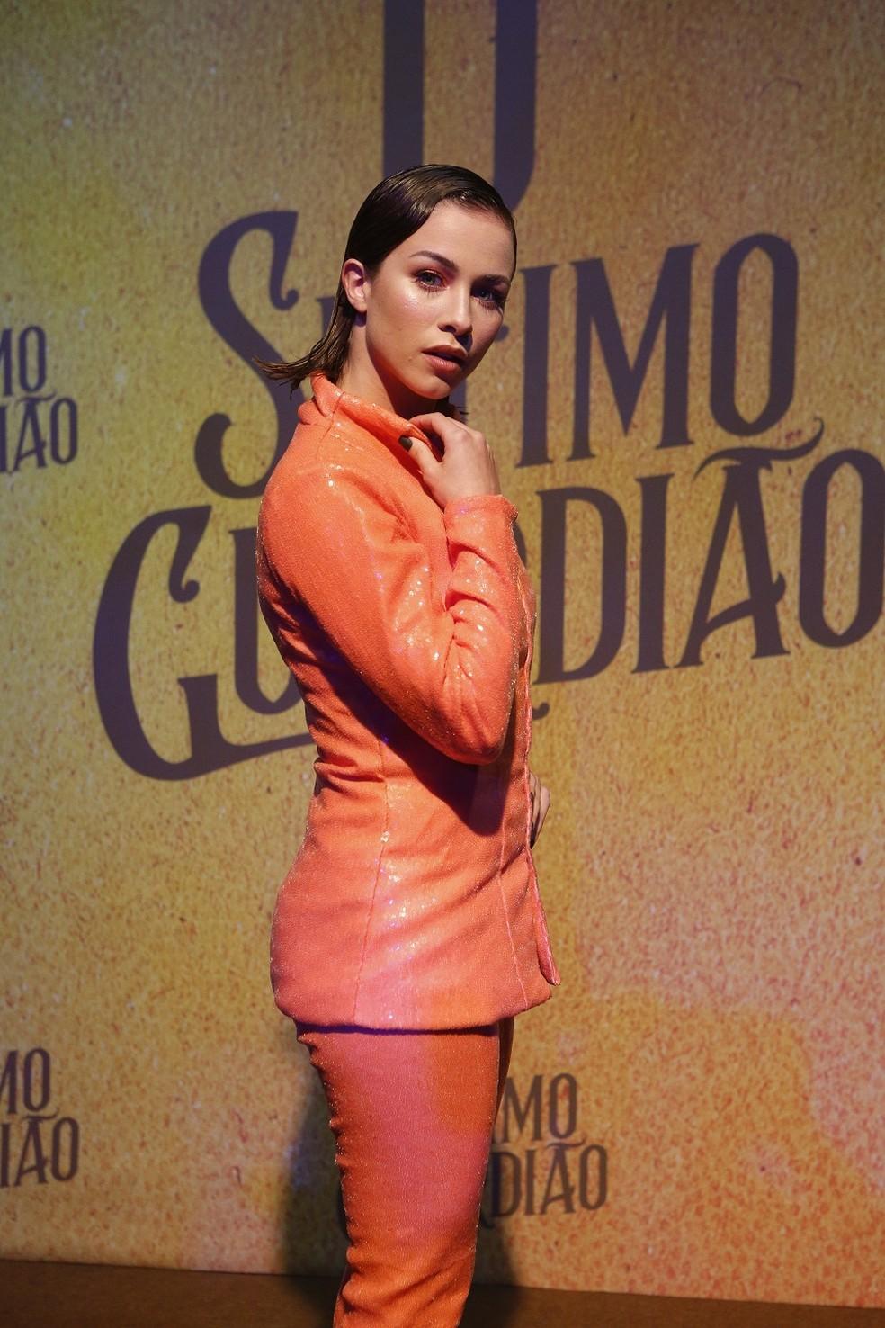 Laryssa Ayres será filha dos personagens de Marcelo Serrado e Carolina Dieckmann na trama — Foto: Fabiano Battaglin/Gshow