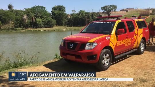 Rapaz de 19 anos se afoga em lagoa de Valparaíso